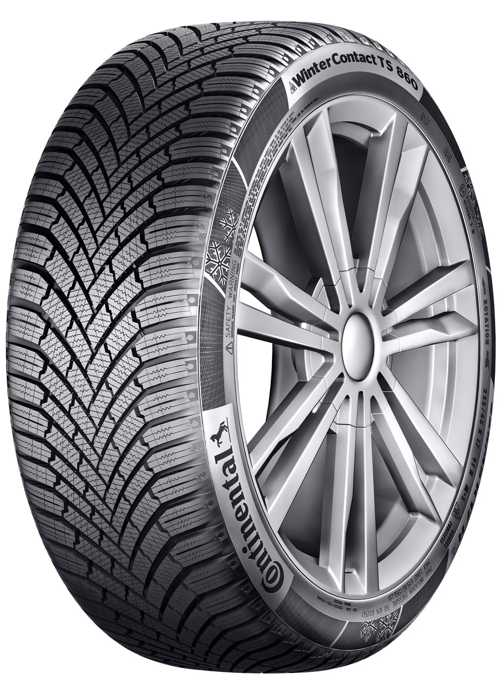 Гуми CONTINENTAL 155/70R13 75T WinterContact TS 860